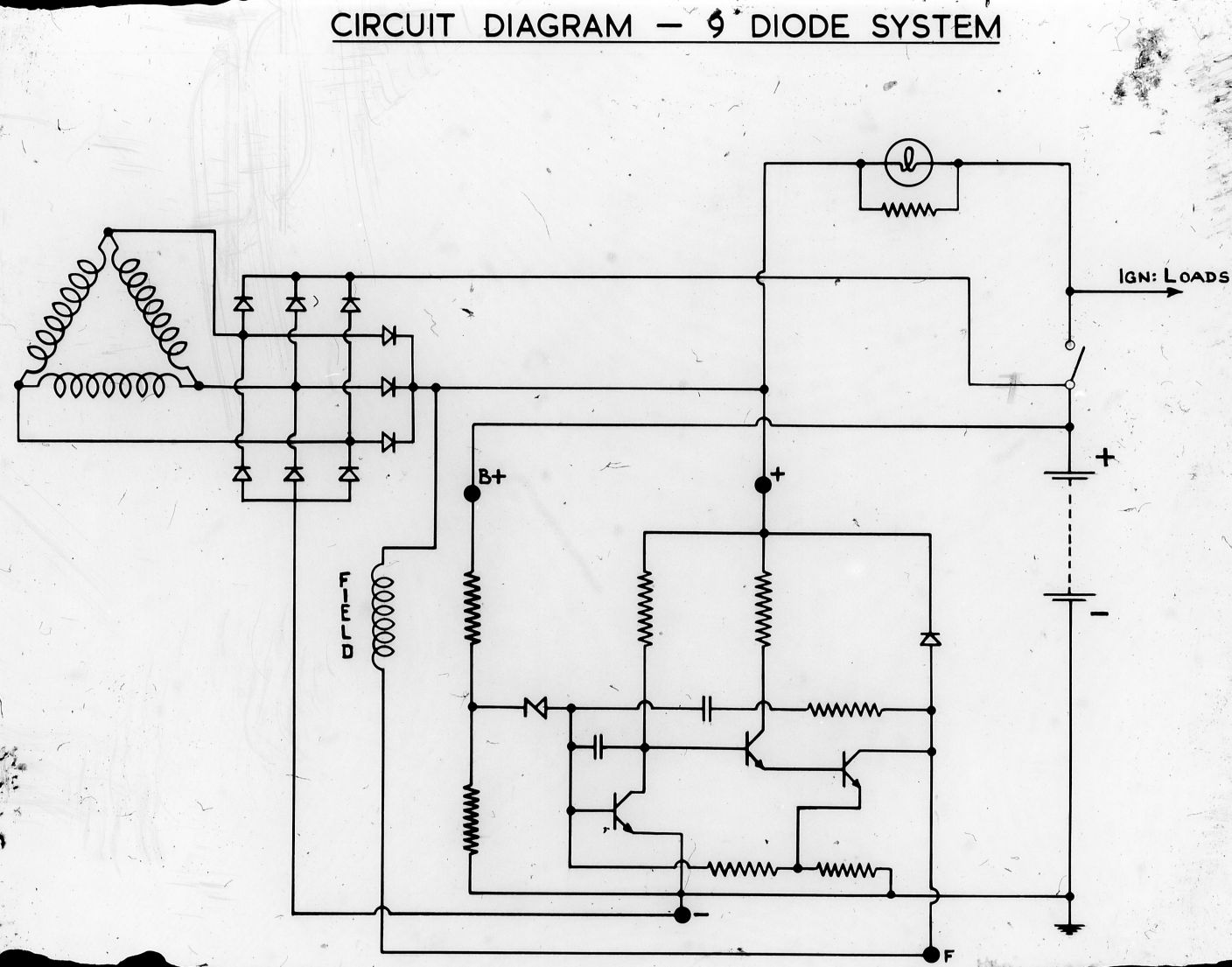 lucas factory museum acr alternator wiring diagram
